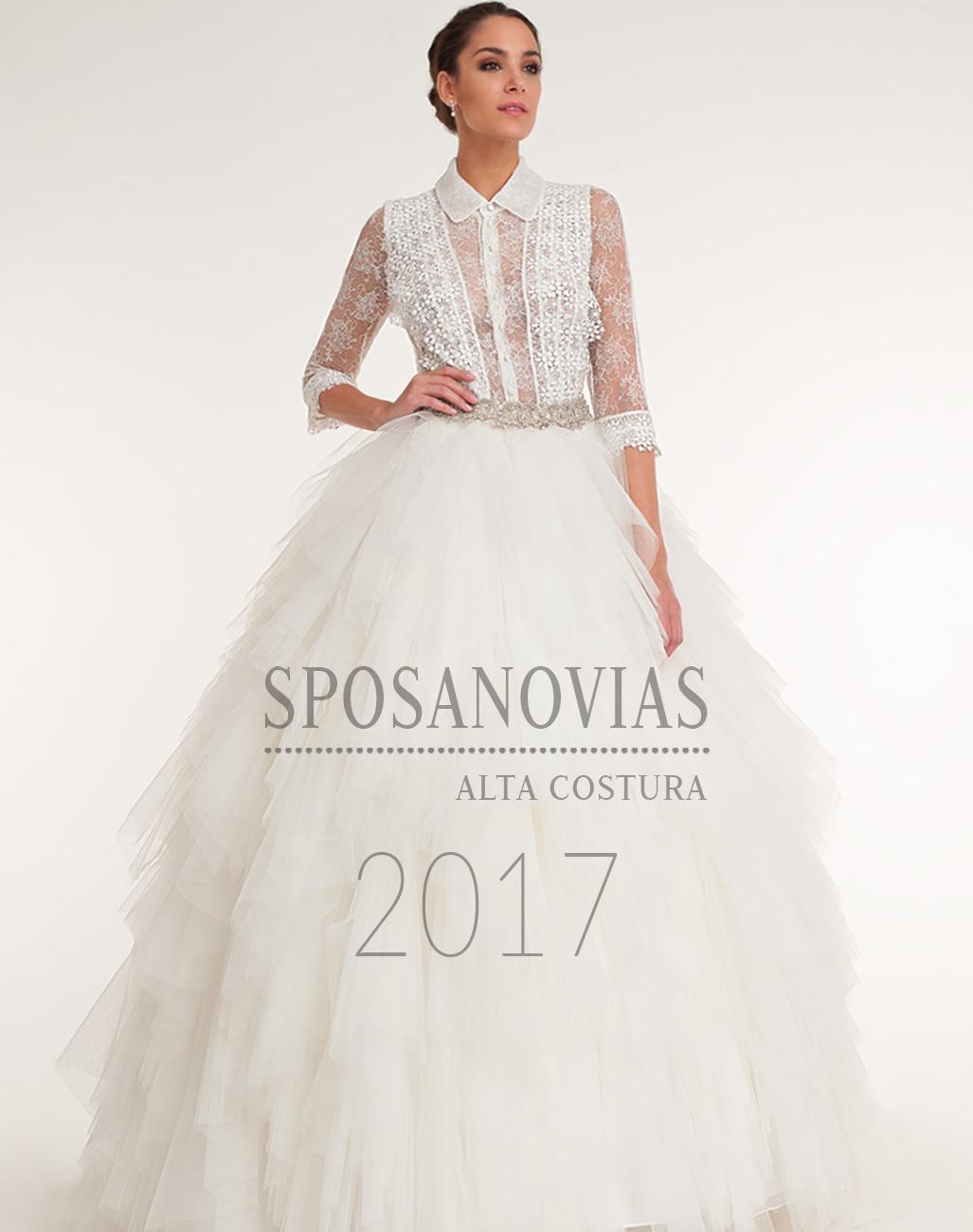 colección vestidos de novia de sposanovias 2017
