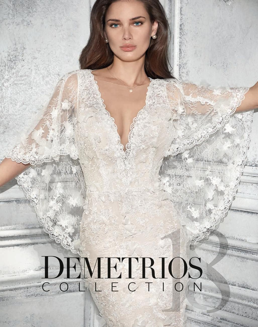 SposaNovias Vigo, Colección de Vestidos de Novia Demetrios 2018